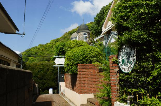 北野町の緑
